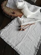 Úžitkový textil - Ľanová štóla Simplicity I - 10406873_