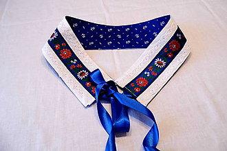 Opasky - Folklórny opasok stuhy - krajka - 10407192_