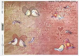 Papier - ryžový papier ITD 1547 - 10406759_