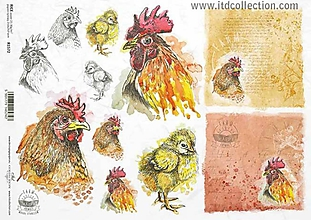 Papier - ryžový papier ITD 1572 - 10407048_