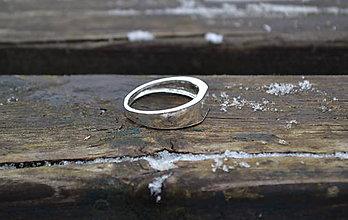 Komponenty - Pánsky prsteň zo striebra - 10406035_