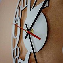 Hodiny - Hodiny na stenu z drevenej preglejky je čas na zmenu Filp PR0160 Fi 40 cm - 10406348_