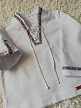 Detské oblečenie - Detská verzia pánskej FOLK košele - 10409844_
