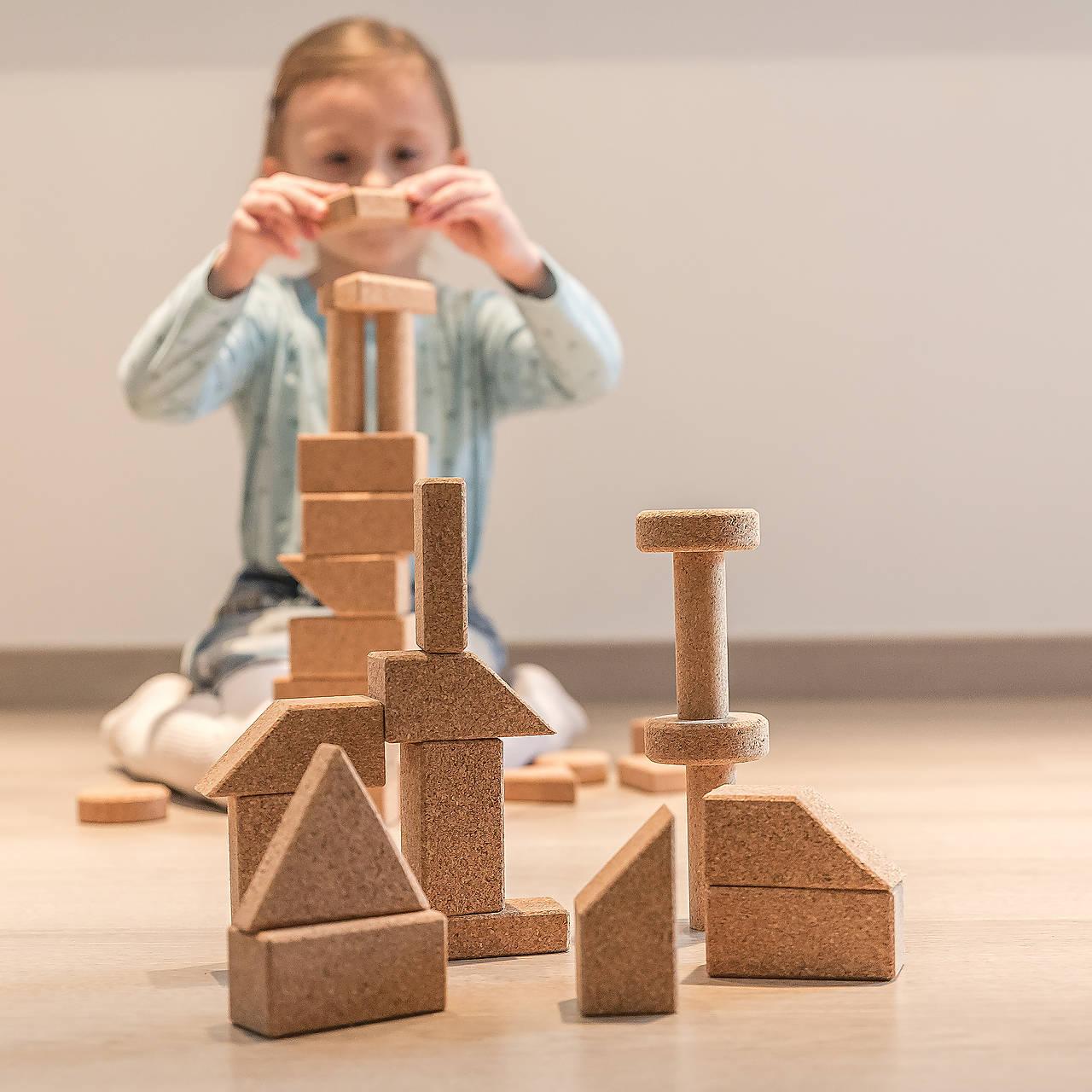 Korková stavebnica BASIC 2