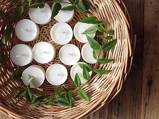 Čajové sviečky - Zero Waste