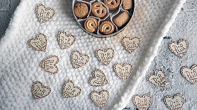Darčeky pre svadobčanov - Svadobné magnetky - 10407136_