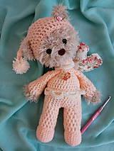Hračky - Medvedík v pyžamku - 10407654_
