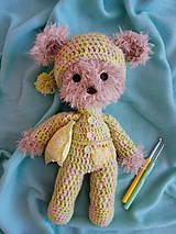 Hračky - Medvedík v pyžamku - 10407662_