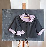 Detské oblečenie - Hrošica Eugénia (bunda + čiapka) - 10408329_