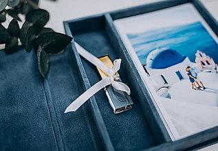 Papiernictvo - Fotobox s priestorom na USB kľúčik - 10408306_