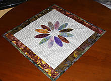Úžitkový textil - Patchworkový obrúsok - 10408777_