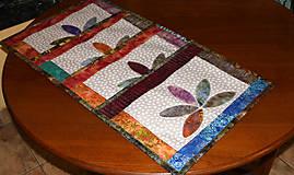 Úžitkový textil - Patchworkové prestieranie - 10408785_