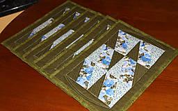 Úžitkový textil - Patchworkové prestieranie - 10408798_