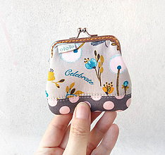 Peňaženky - Peňaženka mini Tea time - 10406158_