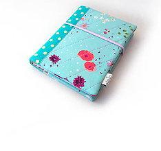 Papiernictvo - Zápisník Nežné kvietky - A6 - 10408001_