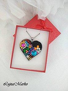 Náhrdelníky - Z lásky ... náhrdelník - 10408733_