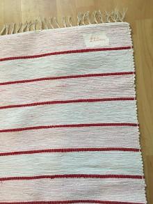 Úžitkový textil - Tkaný koberec - 10406611_