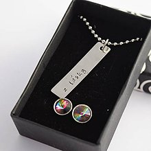 Sady šperkov - náhrdelník + náušnice zadarmo, zľava 30% - 10406053_