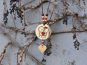 Náhrdelníky - Valentínka - 10409026_