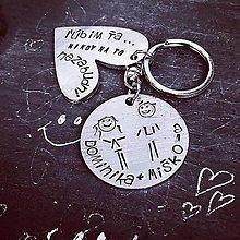 Kľúčenky - TY + JA = láska - 10411939_