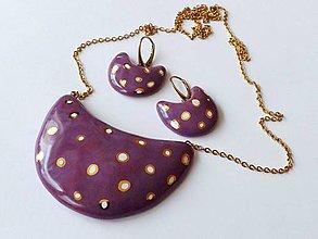 Sady šperkov - bodkovanééé - 10412982_