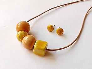 Sady šperkov - bodkovanéé - 10413590_