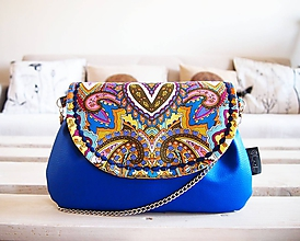 Kabelky - Orient kabelka modrá - 10411875_