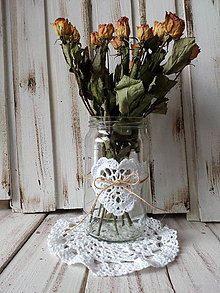 Dekorácie - Váza na kvety - Srdce - 10410751_