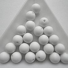 Korálky - Plast matt 8mm-20ks - 10413121_