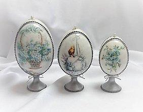 Dekorácie - Veľkonočné vajíčka - sada - 10411257_
