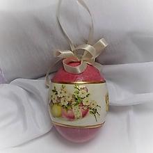 Dekorácie - Veľkonočné vajíčko - 10411318_