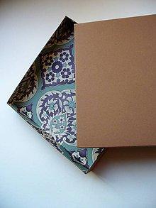 Krabičky - krabička farebná zvnútra - 10412328_