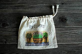 Úžitkový textil - Vrecúško na bylinky - 10411889_