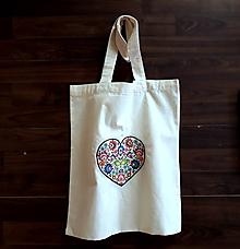 Nákupné tašky - Nákupná taška ♥ folkové - 10413080_