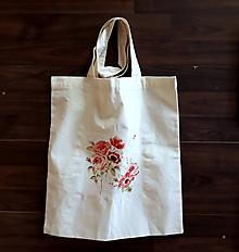Nákupné tašky - Nákupná taška flowers - 10413187_