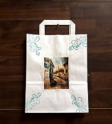 Nákupné tašky - Darčeková taška Na dedine - 10413358_