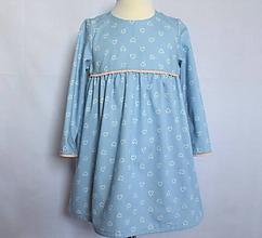 Detské oblečenie - Detské džínsové šaty - 10413511_