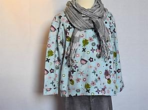 Detské oblečenie - Tričko Kvetinová víla - 10413516_