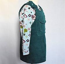 Detské oblečenie - Šatová sukňa z menčestru - 10413531_