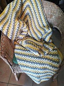 Úžitkový textil - Veľká prikrývka - 10411168_