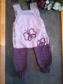Detské oblečenie - Pletené gaťušky - 10412465_
