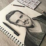 Kresby - Robím portréty na objednávku  - 10412199_