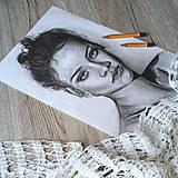 Kresby - Robím portréty na objednávku  - 10412200_