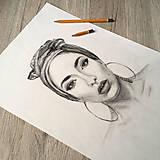 Kresby - Robím portréty na objednávku  - 10412202_
