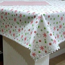 Úžitkový textil - Veľkonočný set obrusov (1) - jarné kvietky - 10412782_