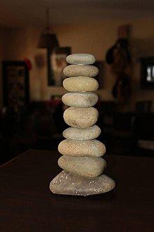 Dekorácie - Kamenná vežička 3 - 10413096_