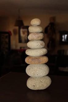 Dekorácie - Kamenná vežička 4 - 10413098_