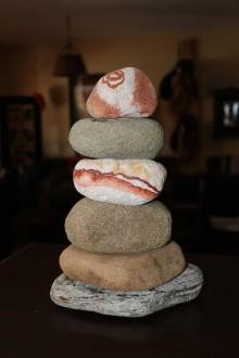 Dekorácie - Kamenná vežička