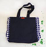 Nákupné tašky - Eko nákupná taška - Trojuholníky - 10410258_