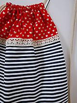 Iné tašky - Vrecko pruzkové - Zaľúbený námorník - 10413629_